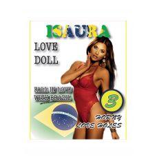 Надувная секс-кукла брюнетка с карими глазами Isaura
