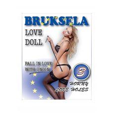Надувная секс-кукла светлокожая блондинка Bruksela