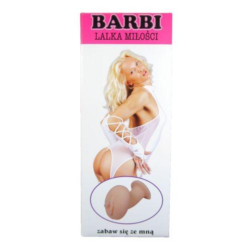 Надувная секс кукла с вставкой из киберкожи и вибростимуляцией BARBI- 3D