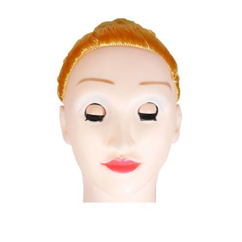 Надувная секс-кукла светлокожая блондинка BARBI- 3D