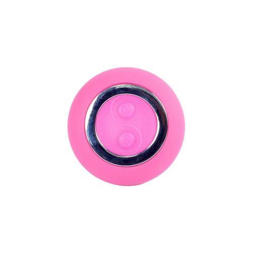 Виброяйцо с пультом ДУ розовое Remoted controller egg 0.1 USB