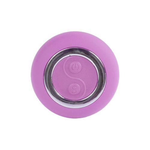 Виброяйцо с пультом ДУ фиолетовое Remoted controller egg 0.3 USB