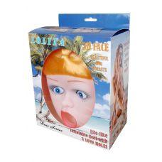 Надувная секс кукла с рыжими волосами LOLITA BS5900015