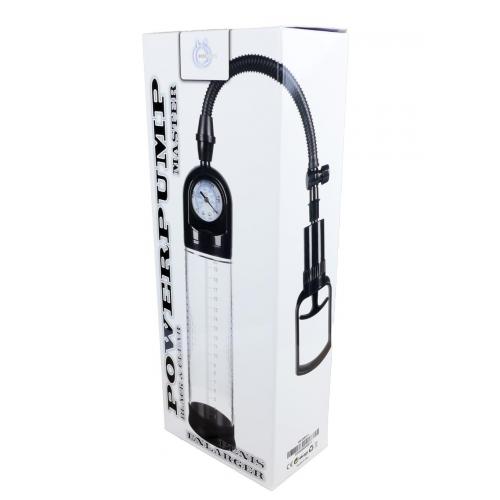 Вакуумная помпа для увеличения пениса c манометром Power pump MASTER