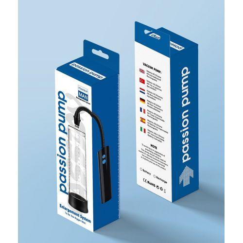 Автоматическая вакуумная помпа с вибрацией для увеличения члена Passion Pump