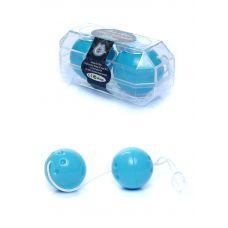 Вагинальные шарики голубые Duo balls