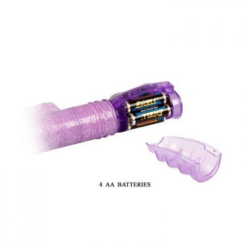 Вибратор с стимулятором клитора водонепроницаемый Amos BW-020536R