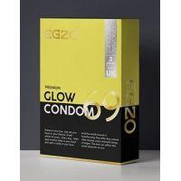 Светящиеся презервативы универсального размера EGZO Glow №3 ЕГЗО