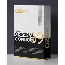 Анатомические презервативы в силиконовой смазке  EGZO Original №3