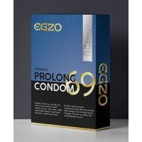 Пролонгирующие презервативы в силиконовой смазке EGZO Prolong №3 ЕГЗО