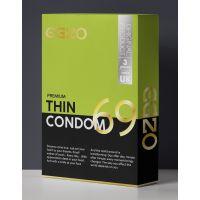Тонкие презервативы EGZO Thin №3