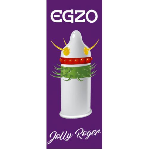 Презервативы EGZO Jolly Roger
