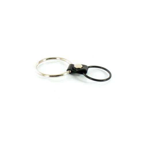 Двойное эректильное кольцо для пениса и мошонки Scappa CR-6