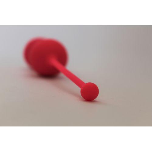Вагинальные шарики COSMO D 30 мм, цвет розовый неон
