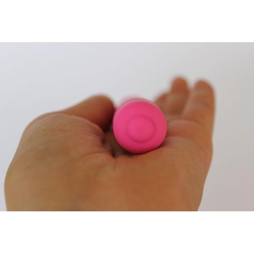 Уретральный стимулятор с вибрацией, 10 режимов вибрации, L рабочей части 112 мм D 7,5 мм, цвет розов COSMO