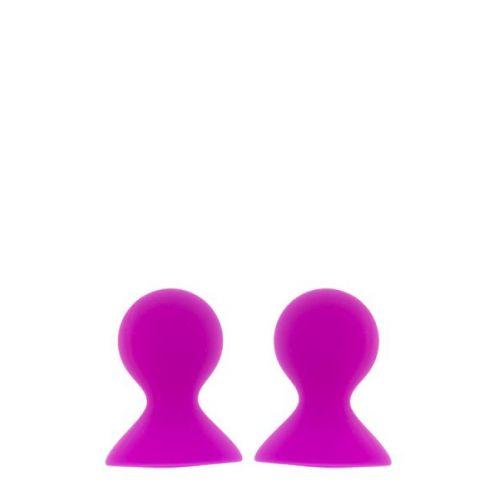 Стимуляторы-вибраторы на соски розовые LIT-UP NIPPLE SUCKERS