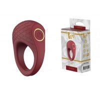 Эрекционное вибро-кольцо мужское со стимулятором клитора Dream Toys ROMANCE IVY