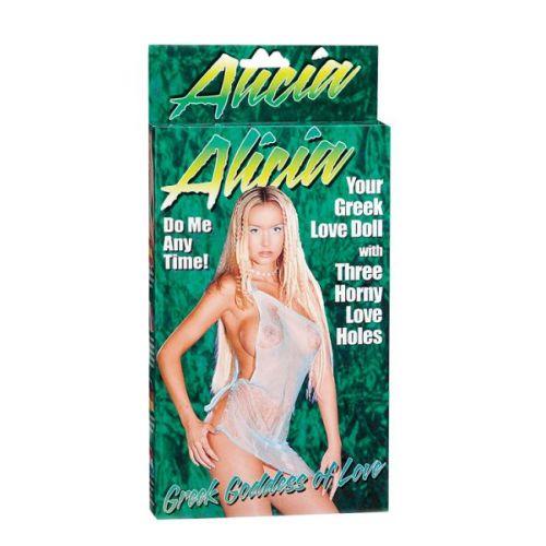 Секс кукла надувная резиновая Alicia
