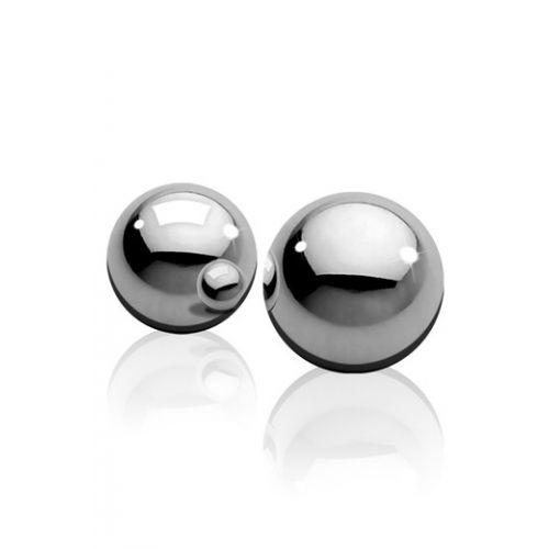 Стальные вагинальные шарики Metal Worx Ben-Wa Balls Medium