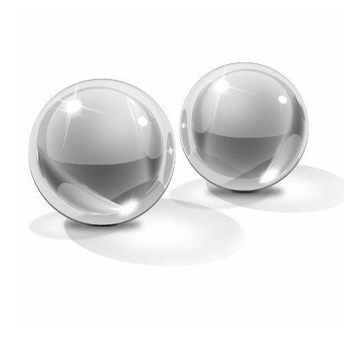 Вагинальные шарики стеклянные Icicles Nº 42 - M