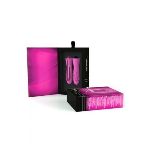 Вибратор для стимуляции клитора Key Io Raspberry Pink