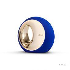 Клиторальный вибратор Lelo Ora Midnight Blue (Лело) платинум силикон на аккумуляторе