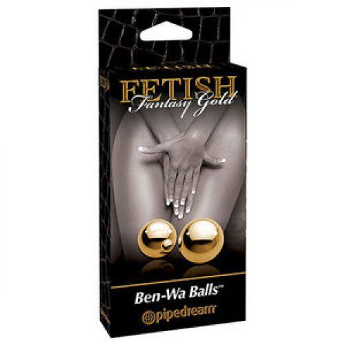 Вагинальный шарики Fetish Fantasy Gold Ben-Wa Balls