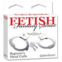 Наручники для секса металл Fetish Metal Cuffs