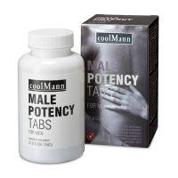 Таблетки для повышения мужской силы COOLMANN MALE POTENCY TABS