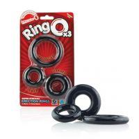 Комплект эректильных колец - RingO x3 Clear