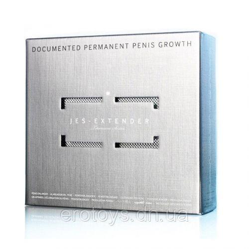Экстендер для увеличения члена с ремешковой фиксацией Jes-Extender Titanium