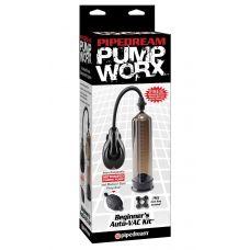 Автоматический вакуумный насос + груша Pump Worx Beginner's Auto VAC Kit