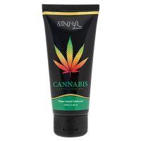 Смазка для секса и массажа на основе семян конопли Sinful Pleasures Lube Cannabis 100 мл