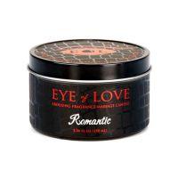 Возбуждающая массажная свеча с феромонами Eye of Love Romantic Massage Candle 150 мл