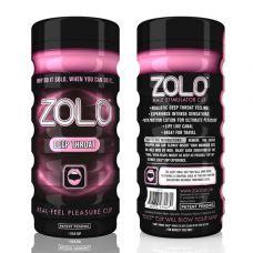 Мастурбатор с имитацией орального секса Zolo Deep Throat Cup