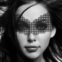 Виниловая маска БДСМ для глаз Bijoux Indiscrets Eyemask Erika