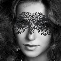 Кружевная маска БДСМ для глаз Bijoux Indiscrets Eyemask Dalila
