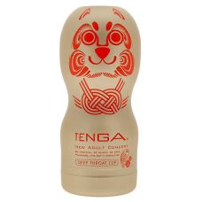 Мастурбатор глубокий минет Тенга Tenga Deep Throat Limited Edition Gold