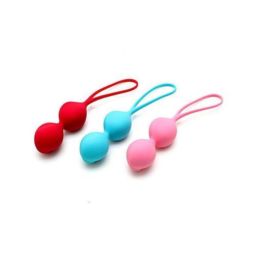 Комплект вагинальных шариков Satisfyer Balls C03 Double (Set of 3)