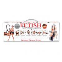 Секс качели и прочные фиксаторы для рук, ног и спины Fetish Fantasy Series Spinning Fantasy Swing