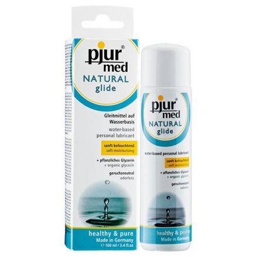 Нейтральный лубрикант на водной основе Pjur MED Natural Glide 100 ml (Пьюр, Пджюр)