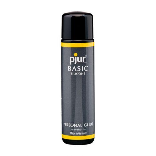 Лубрикант на силиконовой основе Pjur Basic Silicone 100 ml вагинальный и для игрушек (Пьюр, Пджюр)