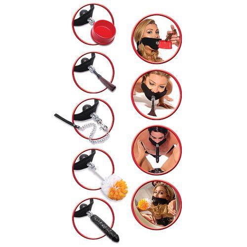 Набор кляпов для фетиш игр Extreme Compliance Kit