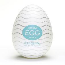 Мастурбатор яйцо Tenga Egg Wavy (Волнистый) Тенга