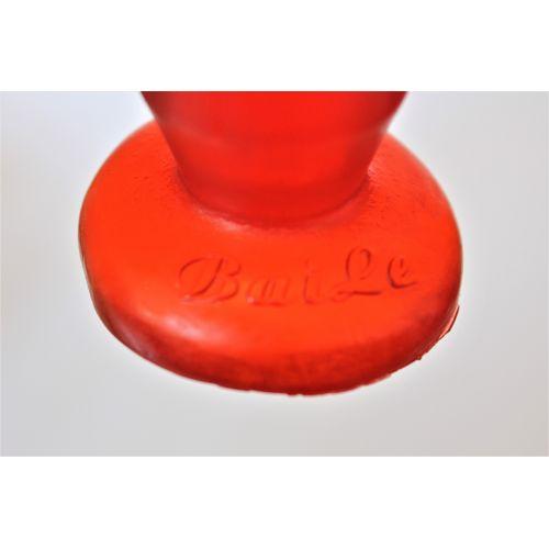 Стимулятор анальный виниловый изогнутой формы Anal stimulator Erowoman L 11 см D 3,5 см