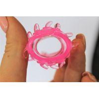 Насадка на член силиконовая для вагинальной стимуляции с Шипиками и Лепестками EROWOMAN