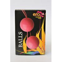 Шарики вагинальные АБС пластик Подготовка к Оргазму Balls розовые D 3,5 см L 14 см