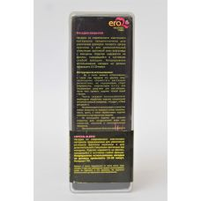 Насадка закрытая рельефная силиконовая с клиторальным стимулятором Crystal sleeve L 13 см D 3 см
