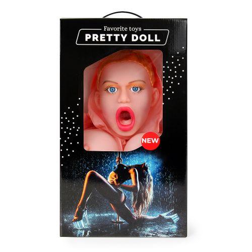 Секс кукла надувная ВАЛЕРИЯ для орального и вагинального секса с вибрацией рост 155 см из киберкожи