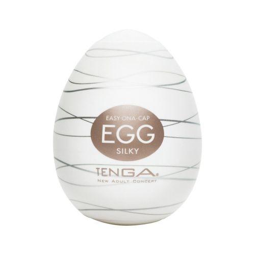 Мастурбатор яйцо для члена TENGA EGG Silky EGG-006